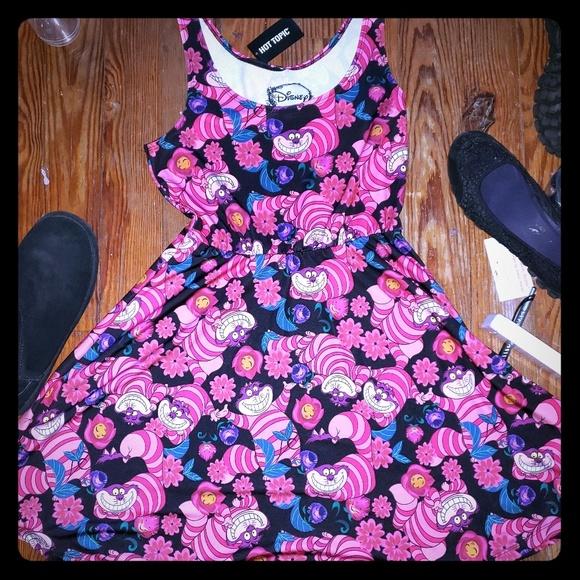 a5294f5ee Disney Dresses | Alice Wonderland Cat Cheshire Dress 1free | Poshmark